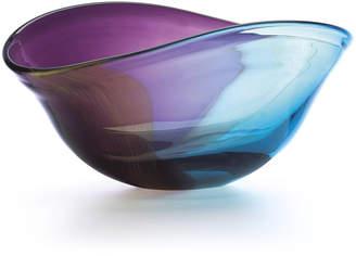 Lenox Nightfall Curved Crystal Oval Bowl