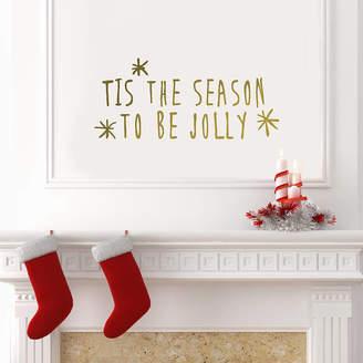 Oakdene Designs 'Tis The Season' Wall Sticker