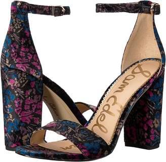 Sam Edelman Yaro Ankle Strap Sandal Heel Women's Dress Sandals