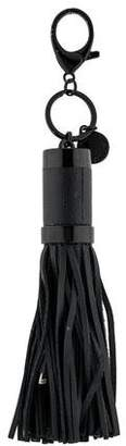 Rebecca Minkoff Leather Tassel Keychain