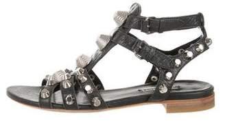 Balenciaga Arena Studded Sandals