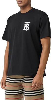 Burberry Emerson Logo Crewneck T-Shirt