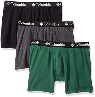 Columbia Men's Cotton Stretch 3 PK Boxer Brief