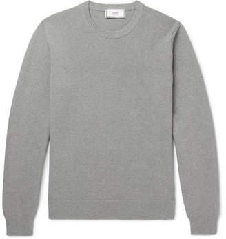 Ami Waffle-Knit Cotton Sweater