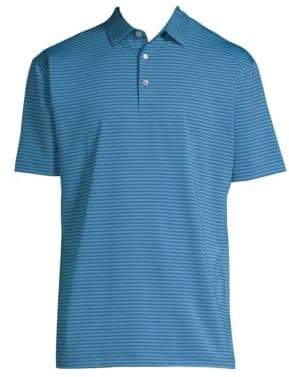 Peter Millar Stripe Polo Shirt