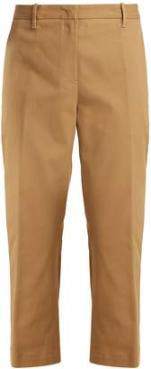 Jil Sander Tommy cropped cotton-blend trousers