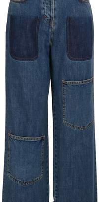 J.W.Anderson J W Anderson Shaded pockets jeans