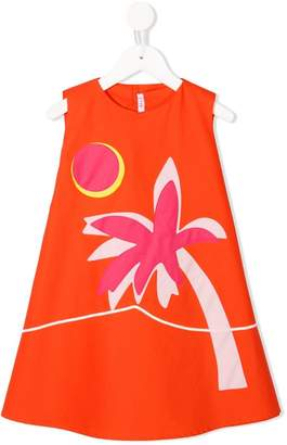 Il Gufo palm tree dress