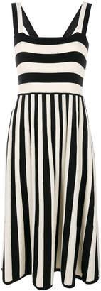 Parker Chinti & mixed striped dress