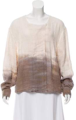 Raquel Allegra Tie-Dye Oversize Blouse w/ Tags