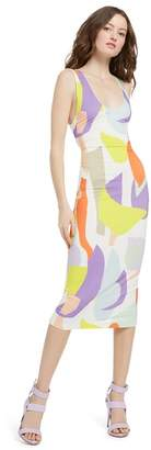 Alice + Olivia James Scoop Neck Dress