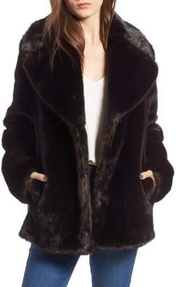 KENDALL + KYLIE Faux Fur Jacket
