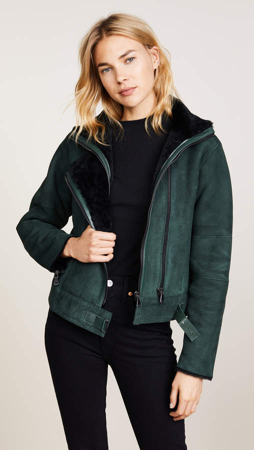 Camilla Shearling Jacket