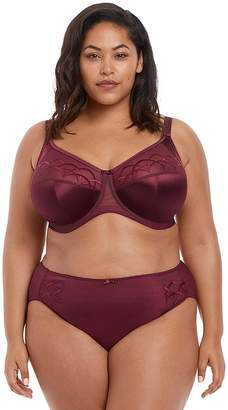 Elomi Cate Underwired Full Cup Banded Bra - Cabernet