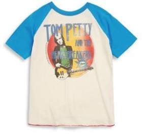 Rowdy Sprout Baby's, Toddler's,& Little Boy's Tom Petty Raglan Tee