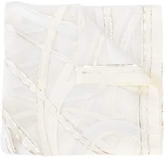 Faliero Sarti panelled scarf