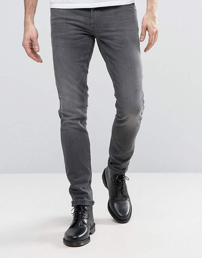 Blend Of AmericaBlend Cirrus Skinny Low Waist Slim leg Jean Denim Middle Blue