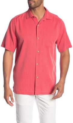 Tommy Bahama Coastal San Clemente Regular Fit Silk Camp Shirt