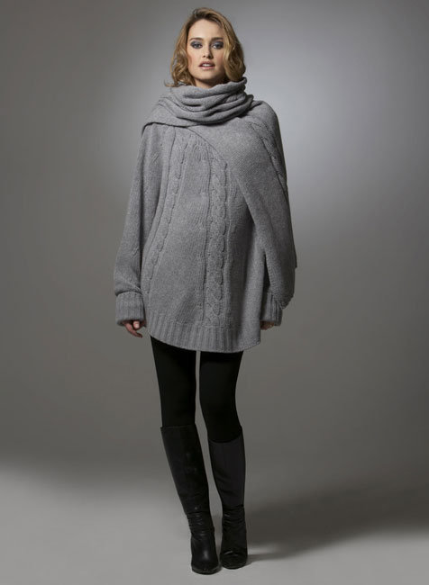 Cable Batwing Sweater