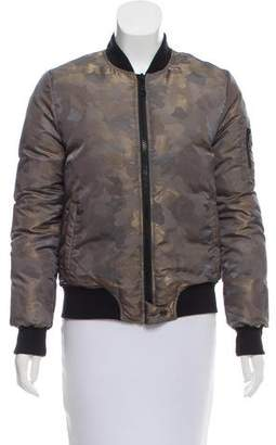 Eleventy Camouflage Bomber Jacket w/ Tags