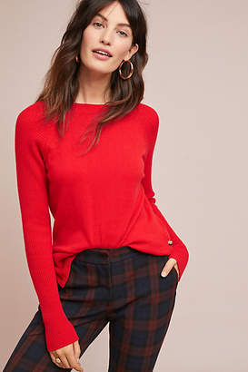 Needle Buttoned Cashmere Sweater