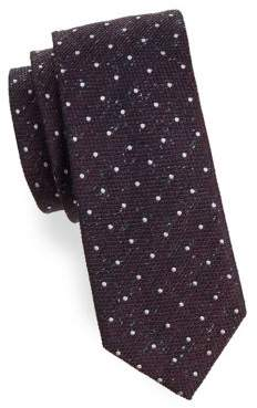 HUGO BOSS Dotted Textured Tie