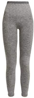 Lndr - Seven Eight Seamless Leggings - Womens - Grey