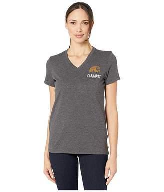Carhartt Lockhart Graphic Outdoor Short Sleeve V-Neck T-Shirt