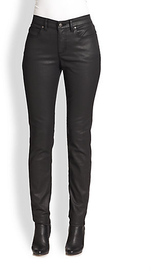 Eileen Fisher Waxed Skinny Jeans
