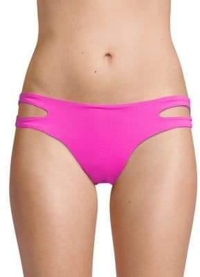L-Space Stretch Side-Slit Bikini Bottom