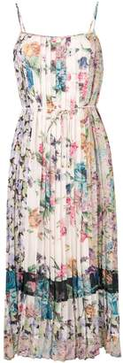Zimmermann floral print pleated dress
