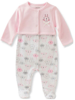 Absorba Babys Two-Piece Footie & Jacket Set $20 thestylecure.com