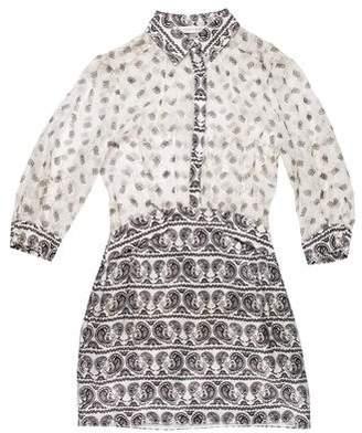 Pierre Balmain Silk Mini Dress