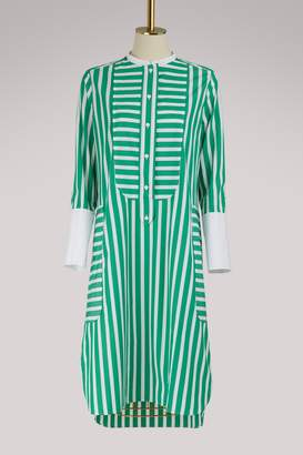 Maison Rabih Kayrouz Striped long sleeved dress