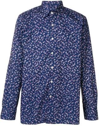 Canali floral print shirt