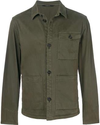 Z Zegna multi-pocket button jacket