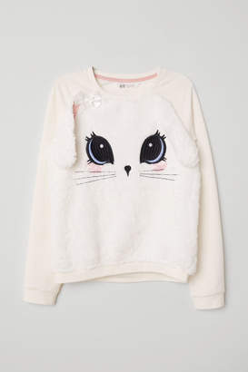H&M Sweatshirt with appliques