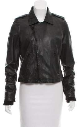 7 For All Mankind Casual Leather Jacket
