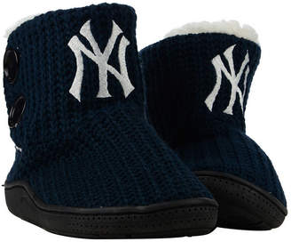 New York Yankees Forever Collectibles Women Knit Two Button Boots