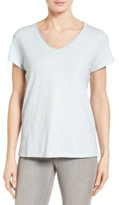 Women's Eileen Fisher Organic Cotton Tee $68 thestylecure.com