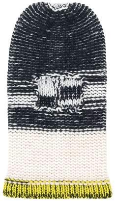 Calvin Klein chunky knit beanie