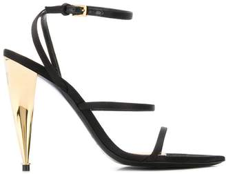 Tom Ford Blade contrasting-heel sandals