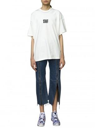 Vetements vetements x hanes printed t-shirt $430 thestylecure.com