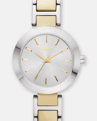 DKNY Stanhope Multi-Tone Analogue Watch