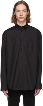 Balenciaga Black Normal Fit Shirt