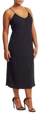 Marina Rinaldi Marina Rinaldi, Plus Size Donata V-Neck Dress