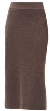 Lafayette 148 New York Cashmere Midi Skirt