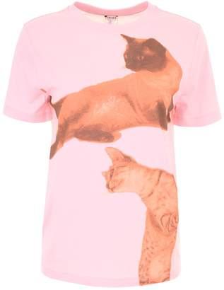 Loewe Cat Print T-shirt