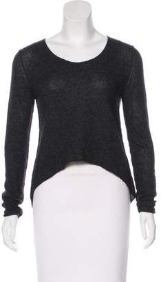 Line Cashmere High-Low Sweater