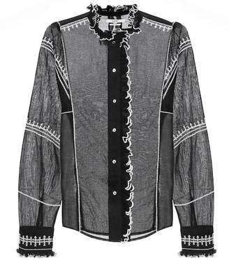 Etoile Isabel Marant Isabel Marant, Étoile Lauryn cotton shirt